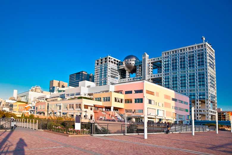 Foto de Aqua City, Shopping localizado em Odaiba, no Japão