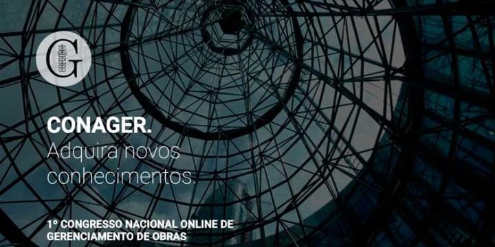 Página inicial do CONAGER - link: www.conager.com.br/evento
