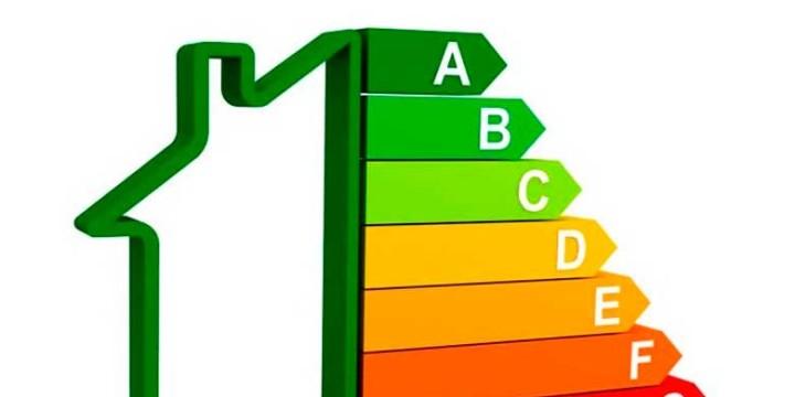 Imagem vetorial com a grade de consumo energético em uma edificação