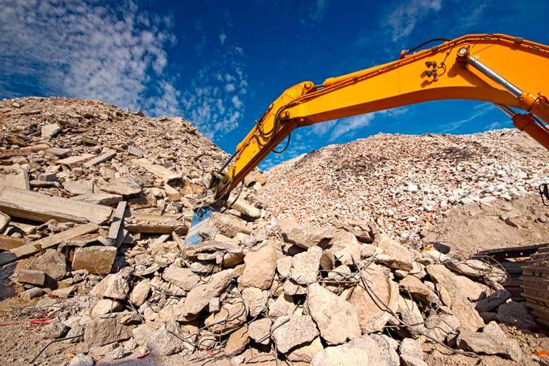 Resíduos do desperdício de materiais na Construção Civil, no Brasil.