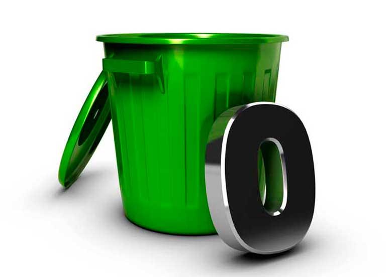 Foto vetorial do lixo zero
